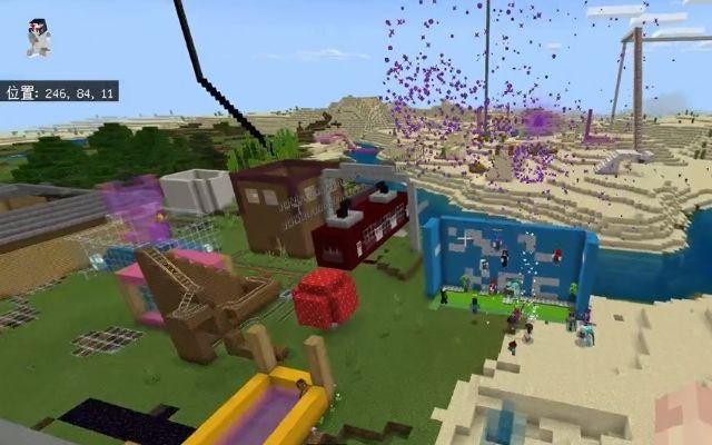 Minecraftで街をつくろう!