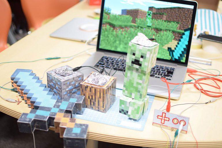 Minecraftと接続